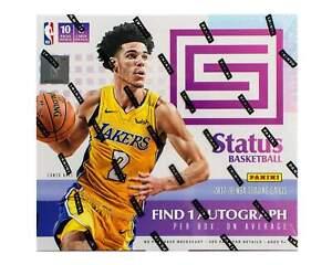 2017-18 Panini Status NBA Basketball cards - Hobby Box