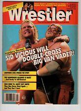 The Wrestler Magazine Sept 1993 Rick Rude Vs Davey Boy Smith