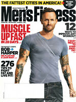 Men's Fitness Magazine March 2012 Bob Harper Roselyn Sanchez FACTORY SEALED