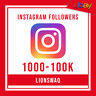 Fast 1000 followrs on instagram ! Great Price ! Money Back Guarantee!