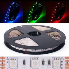 DEMODU® LED Stripe RGB 12V 300 SMD 5050 dimmbar 5m Strip Streifen Band farbig