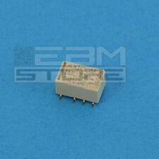 Relay SMD 24Vdc 2A da circuito stampato, relè 24V 2 scambi - ART. DX09