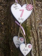 Personalizzato Ragazze Regalo Di Compleanno Targa Sign, figlia, Nipote, nipote.