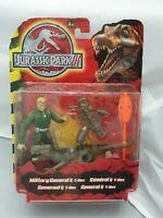Jurassic Park III / 3 Action-Figur Military General & T-Rex Moc- Ovp Hasbro 2003