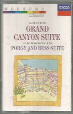 GROFE - GRAND CANYON SUITE ~ GERSHWIN - PORGY & BESS SUITE ~ CASSETTE TAPES