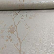 PRECIOUS METALS ORABELLA ROSE GOLD FLORAL WALLPAPER - ARTHOUSE 673403 - NEW