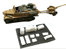 1:72 ou 1:76 - SD. KFZ. 11 Demi-Camion transporteur arrimage set