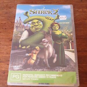 Shrek 2 DVD R4 Like New! FREE POST