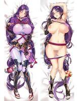 Anime Fate/Grand Order Minamoto no Yorimitsu Dakimakura Pillow Case Hugging Body