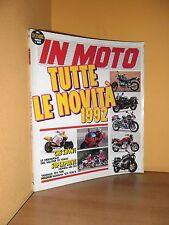 In Moto - n° 12 - Dicembre 1991 - Honda NR 750/Yamaha 125 TDR/TDR-R - Rivista