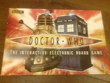 DOCTOR WHO INTERACTIVE BOARD GAME 2004 COMPLETE WORKING TARDIS INSIDE DR DALEK