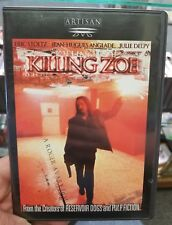 Killing Zoe (DVD, 2001) Quentin Tarantino Cult Pulp Fiction - Eric stoltz