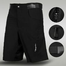 Men's MTB Cycling Shorts Off Road Cycle Bicycle CoolMax Padded Liner