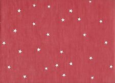 Imperial Disney Home Faded Red with White Stars Toss Wallpaper Df059822