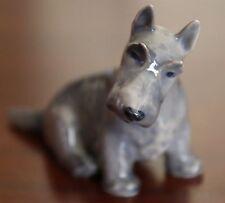 ROYAL COPENHAGEN #3162 DOG FIGURINE - SCOTTISH TERRIER - SITTING - TH. MADSEN