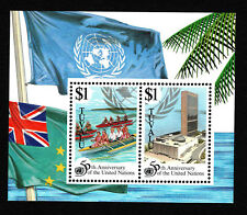 OPC 1995 Tuvalu UN 50th Souvenir Sheet Sc#708 MNH 34028