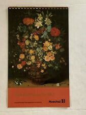 1982 Vintage  Advertising Calendar Photography English made in Nj