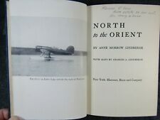 NORTH TO THE ORIENT By Anne Morrow Lindbergh 1st Edition 1935 HC