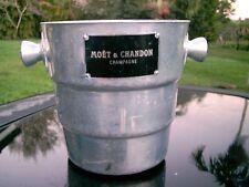 CHAMPAGNE moet & chandon   Ice Cooler  Bucket Barware Belguim  NICE