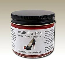 Angelus Shoe Polish Co. Walk On Red Sole Repair Acrylic Paint 2oz Bottle