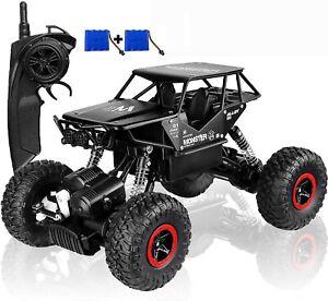 SZJJX RC Camion Voiture 4X4 Tout Terrain Rock Crawler Télécommande Jouet Cadeau