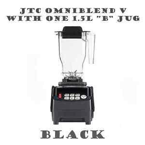 JTC OmniBlend Pro Commercial Blender One Jug Ice Crusher Smoothie Milkshake Bar