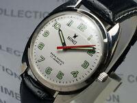 Vintage Nino Mechanical Handwinding Movement Mens Wrist Watch OG91 F