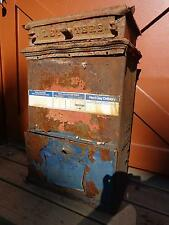 Vintage Cast Iron US Postal Service Mailbox Letterbox For Parts or Refurbishing
