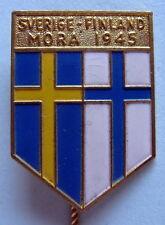 SWEDEN - FINLAND MORA 1950 BADGE