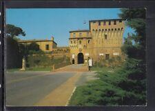 Cartolina Lugo Castello Estense e Monumento ad Andrea Costa HF232