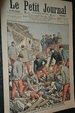 Le petit journal Supplément illustré N°828 / 30-9-1906 / Catastrophe Montfaucon