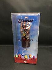 Hot Toys Marvel Avengers End Game Nano Gauntlet Keychain Brand New