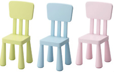 Ikea Mammut Kids Children's chair Plastic Toddlers Furniture New Indoor Outdoor
