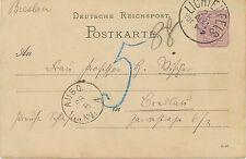"""BAYERN / DT.REICH """"LICHTENFELS"""" K1 ohne Jahreszahl 5 Pfennig Deutsches Reich GA!"""