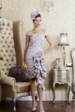 Ian Stuart Dress size 12 /Hydranger / Mother of the bride/groom with Hatinator