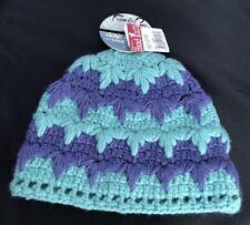 New TURTLE FUR Romi Hand Knit Women's beanie Winter Hat Mint