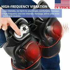 Infrared Knee Therapy Massager Vibration Heating Pain Relief Knee Massager USA
