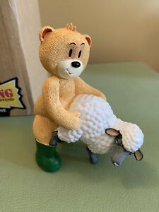 Bad Taste Bears -  Ewan, The Shepherd With His Favourite Sheep!