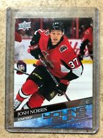 20-21 UD Upper Deck Series 1 Young Guns YG RC Rookie #209 JOSH NORRIS