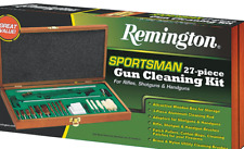 NEW REMINGTON Rifle Shotgun Handgun Sportsman 27 Piece GUN CLEANING KIT  19054