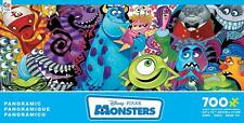 CEACO DISNEY PIXAR PANORAMIC JIGSAW PUZZLE MONSTERS 700 PCS #2919-2