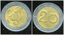 ALGERIE  ALGERIA 20 dinars 1992  ANM  ( 1 )
