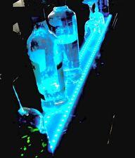 "40""LED MULTI- COLOR LIQUOR BOTTLE DISPLAY SHOT GLASS SHELF  W/ REMOTE CONTROL"