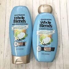 Garnier Whole Blends Coconut Water & Vanilla Milk Shampoo and Conditioner NEW