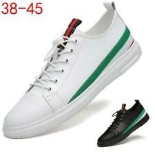 Mens Casual Sports Lace up Skate Shoes Outdoor Sneakers Running Trainers Fashion