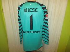 Werder Bremen Nike Torwart Spieler/Matchworn Trikot 10/11 + Nr.1 Wiese Gr.L- XL
