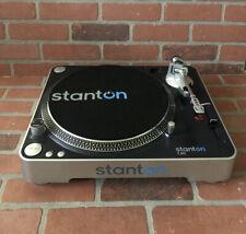 Stanton T50 DJ Turntable With Cartridge / Stylus - Works Read Description
