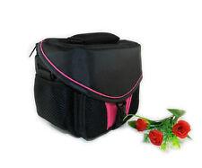 Travel Bag DSLR Camera Bag For Samsung NX1000 NX2000 NX300 NX1100 NX300M  Pink