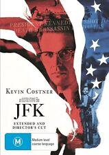 JFK Movie (DVD, 1999) Region 4, PAL In ORIGINAL DVD Box! Kevin Costner