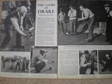 Photo article Oxford Sutton Courtenay The Swan Bowling Team 1940
